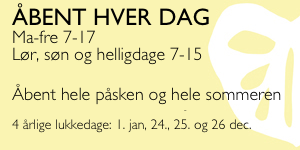 gul logo 300x150 ÅBENT HVER DAG MED HELLIGD OG PÅSKE SOMMER 4.19